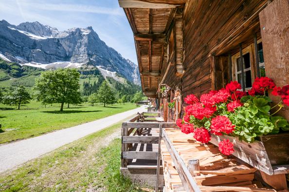 Летний отпуск в альпах
