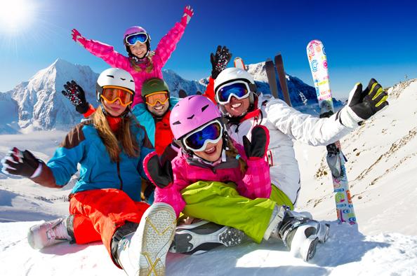 Зимние Альпы - магнит для любителей лыж и сноборда.